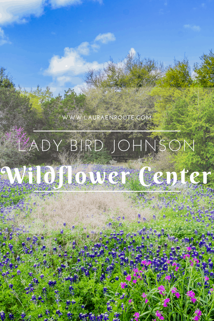 Day Trip from San Antonio to the Lady Bird Johnson Wildflower Center - www.lauraenroute.com