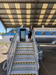 Air Force One-Half at LBJ Ranch - www.lauraenroute.com