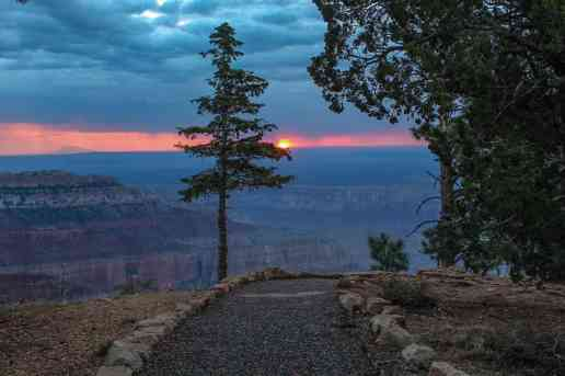 Grand Canyon Sunrise at the North Rim