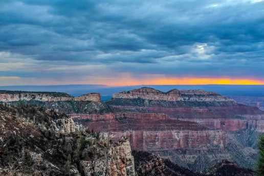 Grand Canyon Sunrise, North Rim