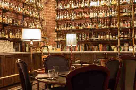 Multnomah Whiskey Library, How to Spend a Long Weekend in Portland, OR