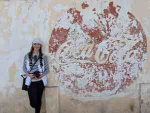 Laura En Route - Coca Cola Mural - Marfa, TX - Things to do When Visiting the Indian Lodge - www.lauraenroute.com
