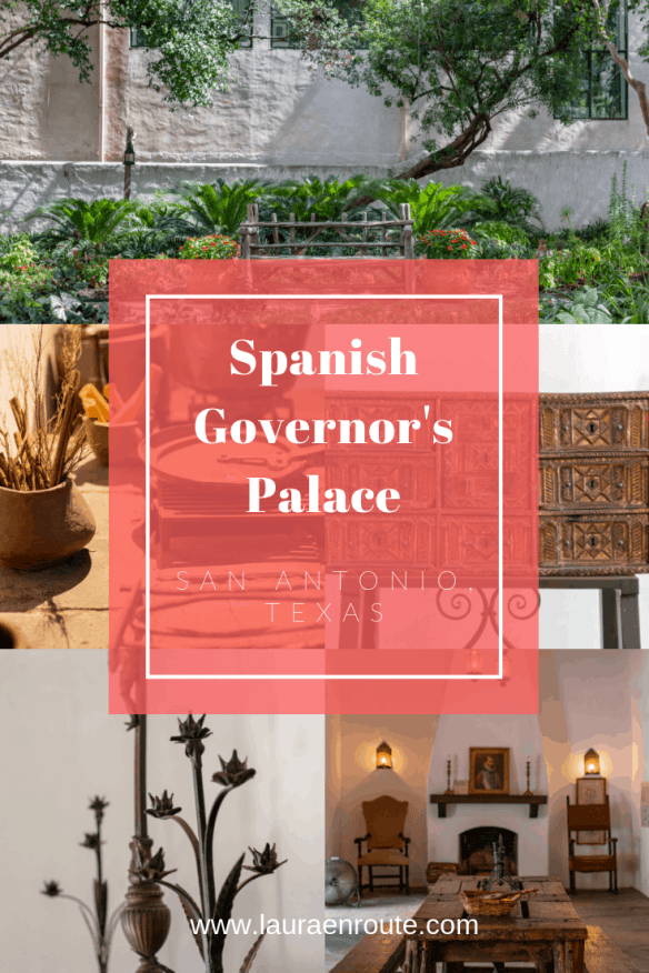 Spanish Governor's Palace: History in Downtown San Antonio - www.lauraenroute.com