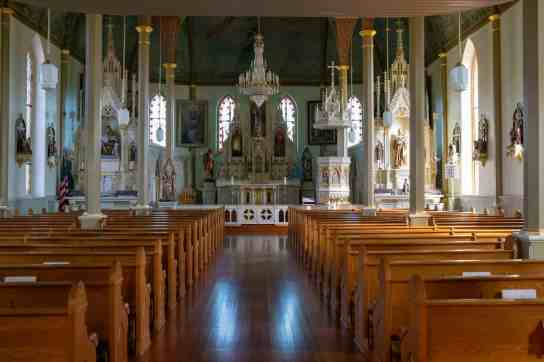 Painted Churches of Texas - St. Mary's Catholic Church - Laura En Route