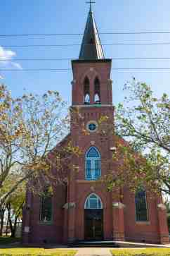 Painted Churches of Texas - St. Mary's Church of Assumption- Laura En Route