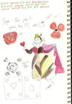 Queen of hearts idea , rose, flower