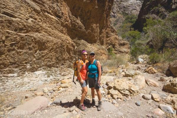 hiking at chisos