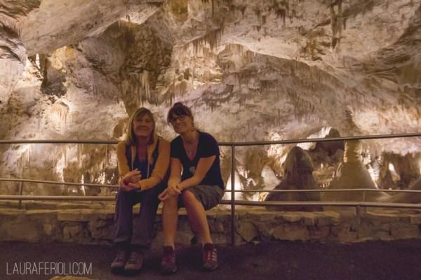 Jude and Laura at Carlsbad Caverns