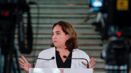 Ada Colau in Barcelona
