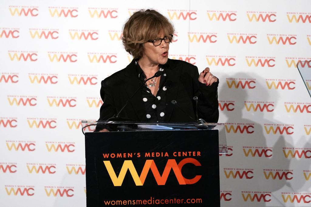 Laura Flanders wins Lifetime Achievement Award