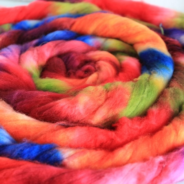 gefärbte Wolle