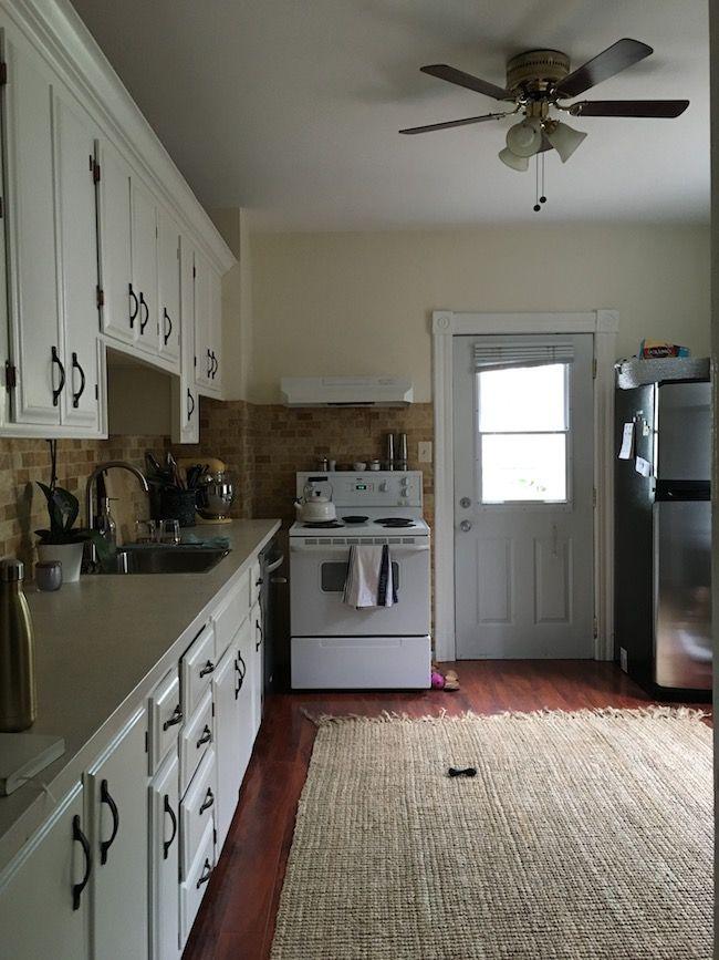 Reformar una cocina sin hacer obra antes y despu s - Reformar la cocina sin obras ...