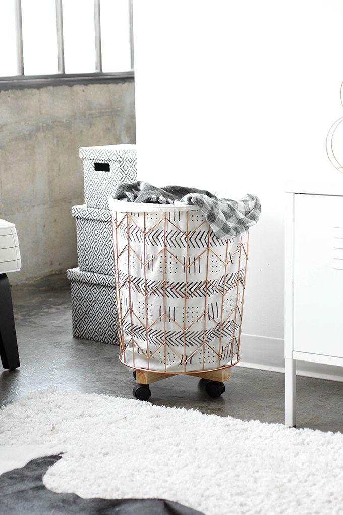 cesta para la ropa diy