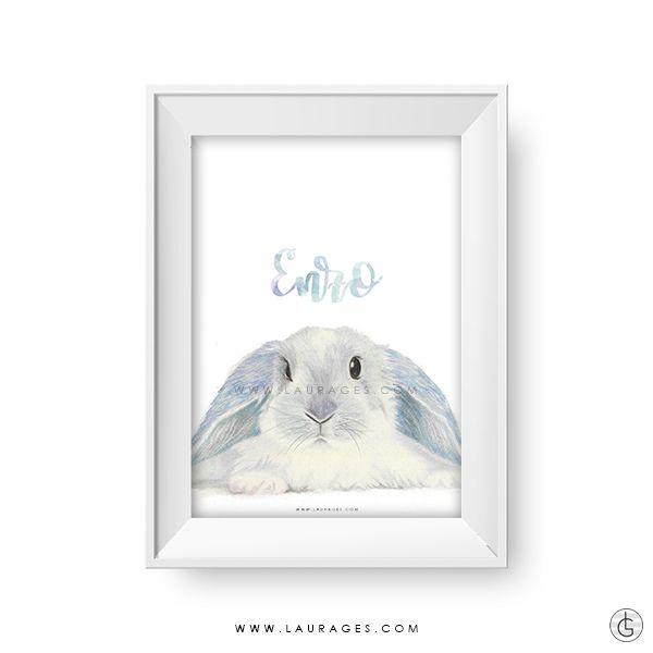 laminas infantiles conejo