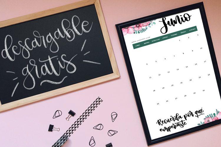 calendario gratis junio