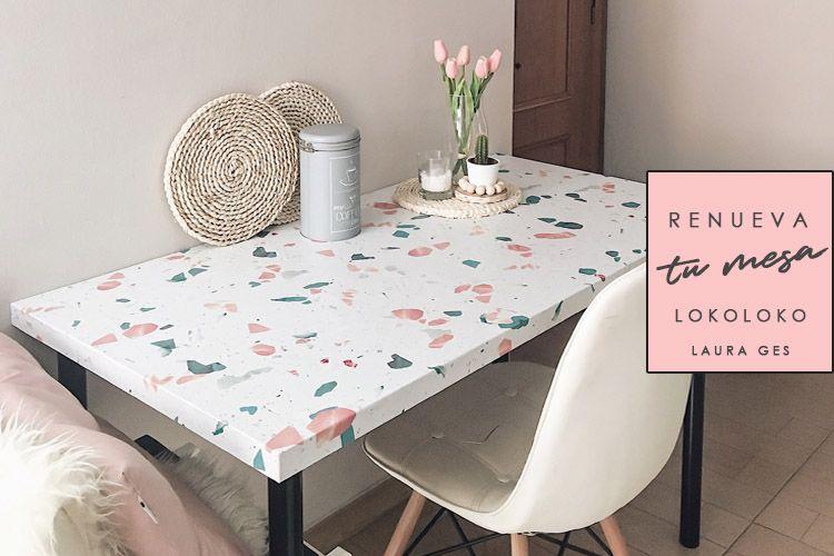 IKEA HACK con LOKOLOKO: Renuevo mi mesa ADILS/LINNMON