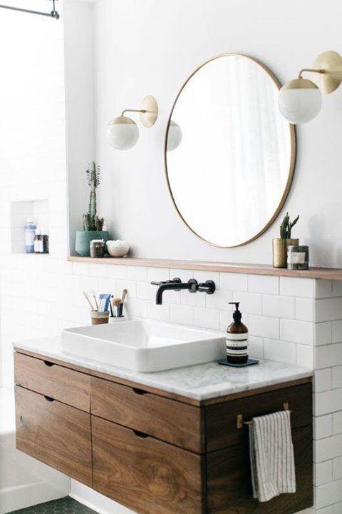 apliques de pared para baños