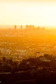 Los Angeles Sunset Cityscape