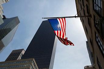 New York City American Flag