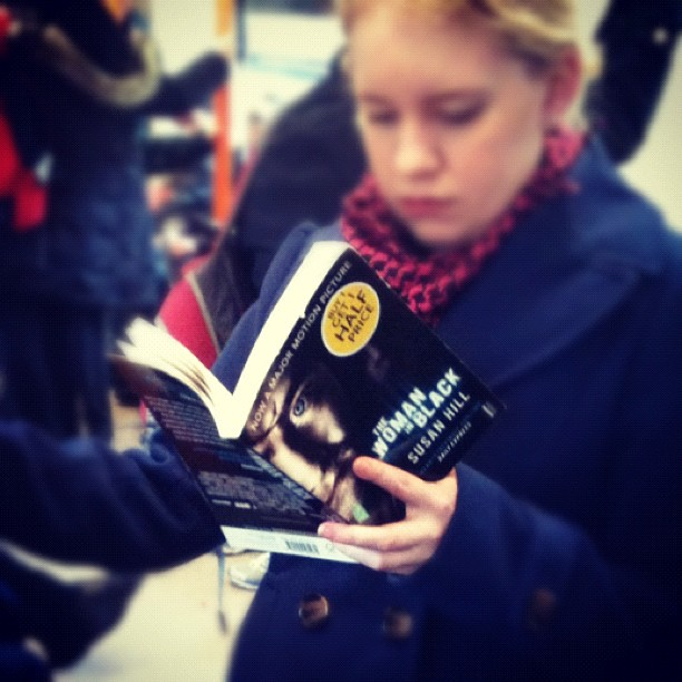 May  2012  London, What Are You Reading?