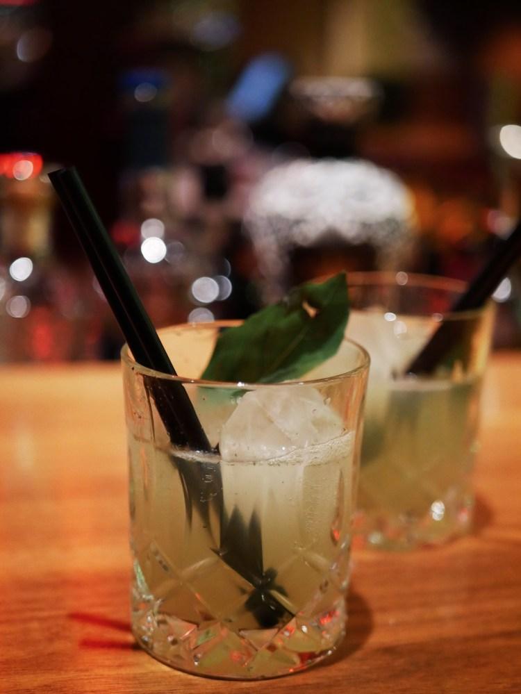 Cocktail Bar Basil Smash