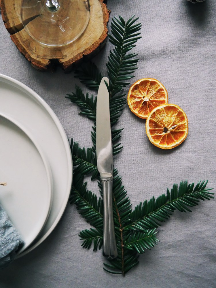 Christmas Table Decoration Knife