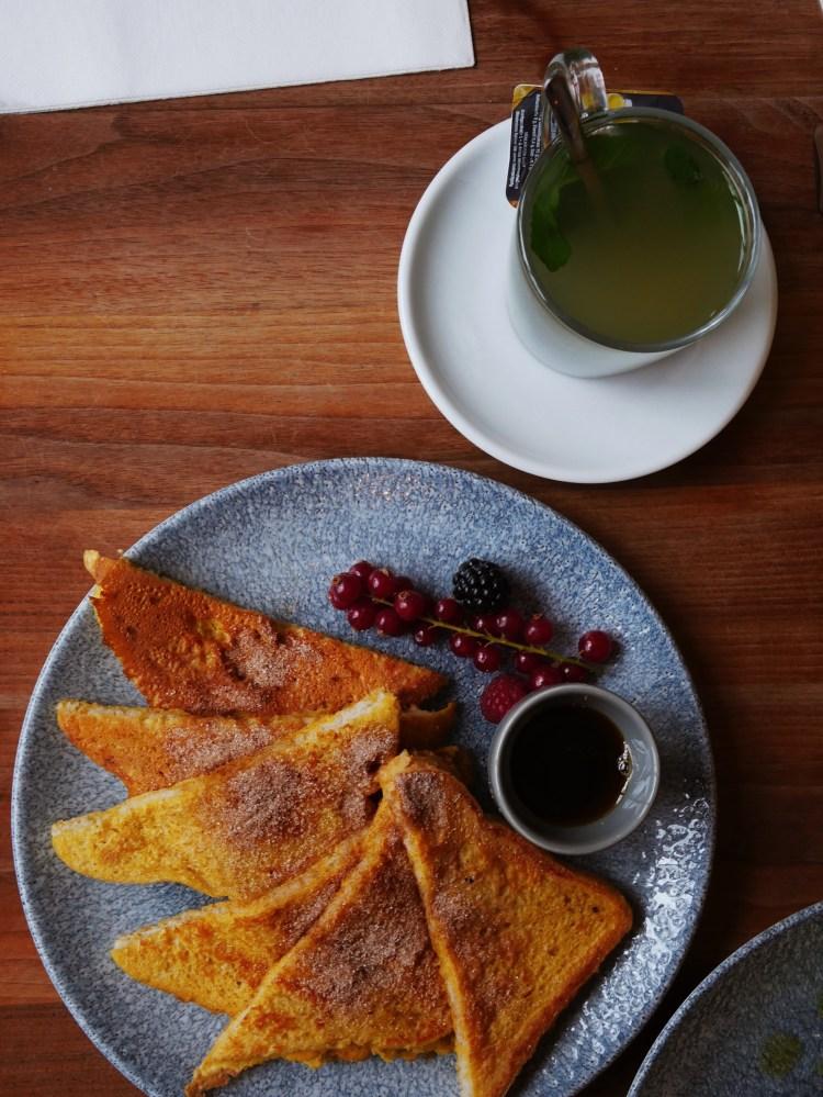 French Toast mit Zimtzucker