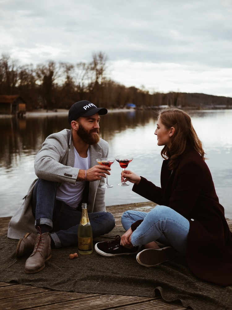Frühlingsgefühle Ammersee Couple Shooting