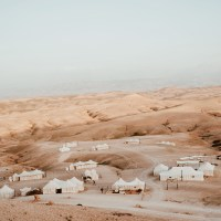 Glamping im Scarabeo Camp, Agafay Desert, Marocco