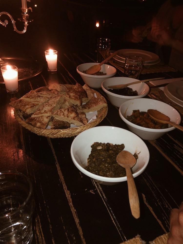 Dinner Scarabeo Camp