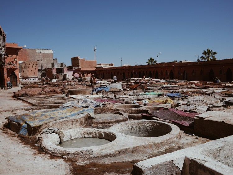 Tanneries of Marrakesh