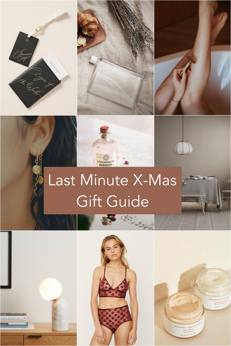 Last Minute X-Mas Gift Guide