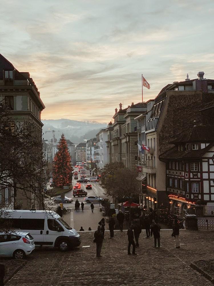 Zur Winterzeit in Luzern