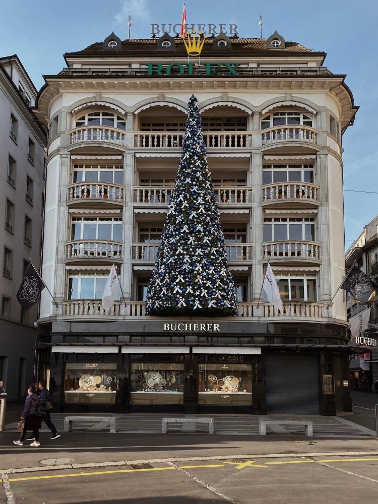 Bucherer Store Luzern