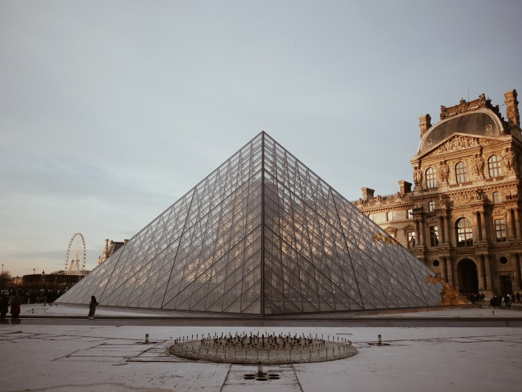Louvre Pyramide Paris, France