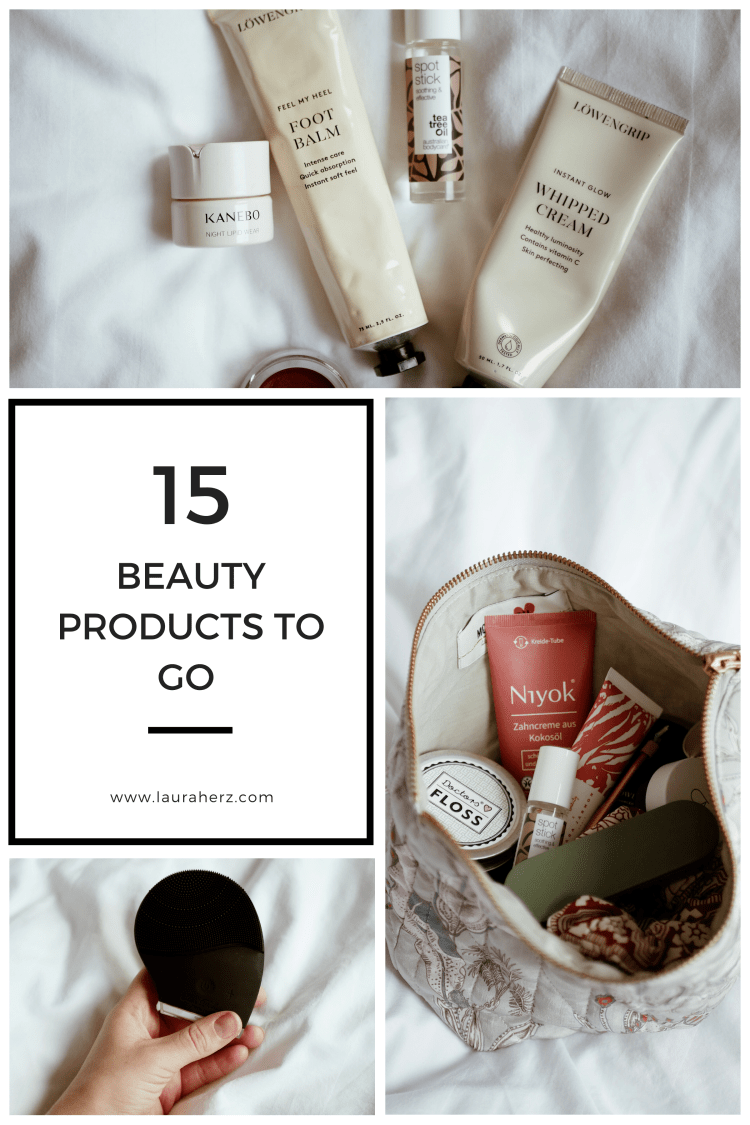 Beauty Products to Go