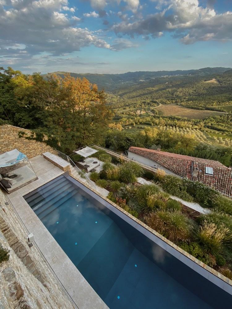 Motovun Villa Pool