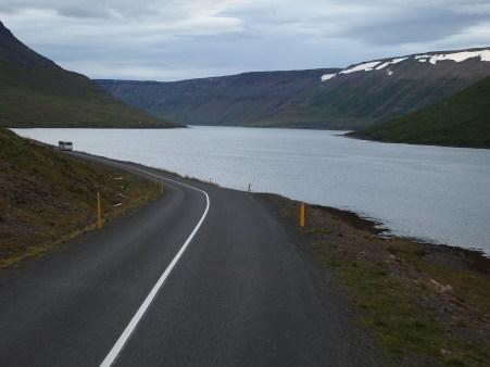 Auf dem Weg nach Suðureyri