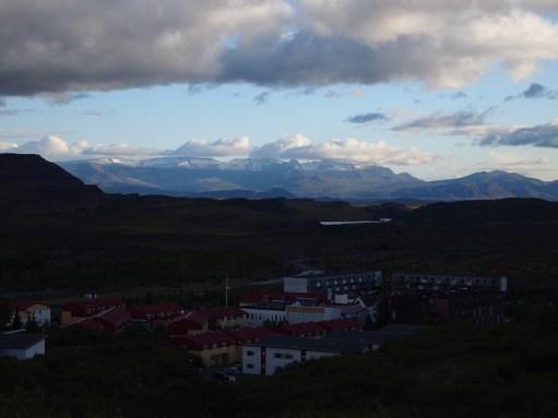 Die Sicht und das Wetter wird besser, da sieht man endlich die Berge!