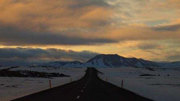 Auf dem Weg nach Akureyri. Zu viel Schönheit auf einmal.