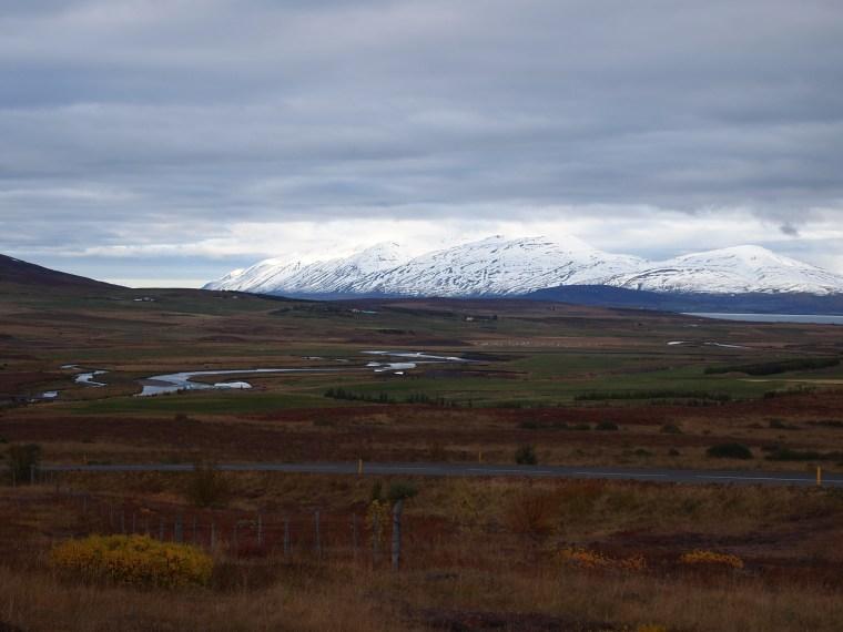 Auf dem Weg raus aus Akureyri