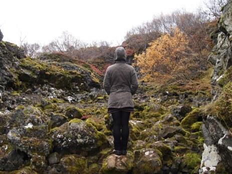 S. hinterm Paradíslaug - ein perfekter Ort für Troll- und Elfentreffen