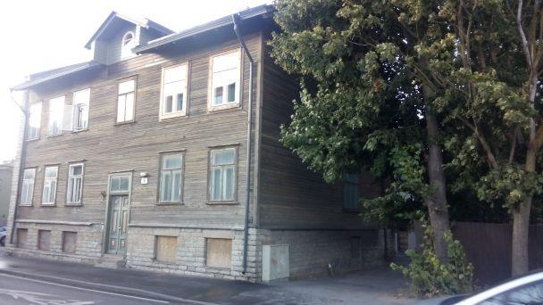 Typisches estländisches Haus