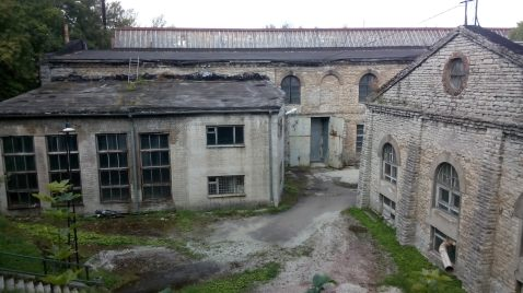 Alte russische Produktionsstätten