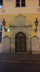 Wunderschöne Tür in der Altstadt
