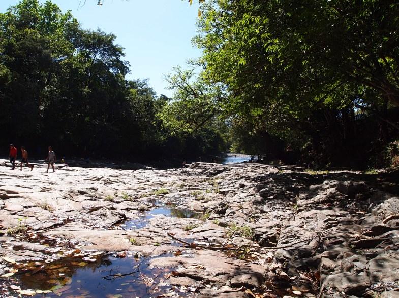 Bei den Mini-Canyons in der Nähe von Boquete
