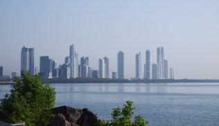 Ein Teil der Skyline von Panama City. Hatte ich nicht erwartet.