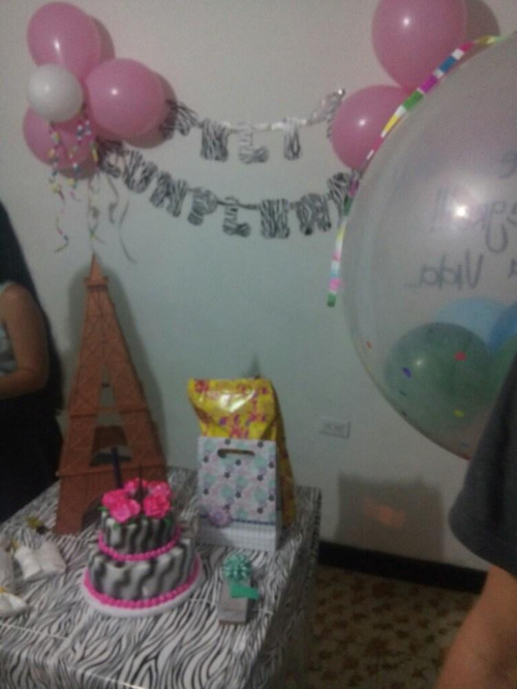 Typische Geburtstagsdeko