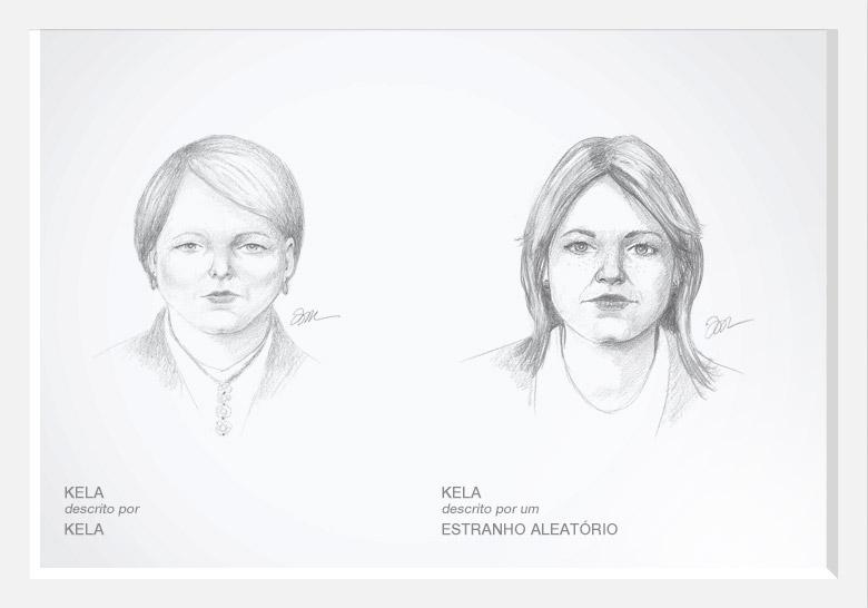 Dove demuestra la belleza real con los bocetos de un artista forense (2/5)