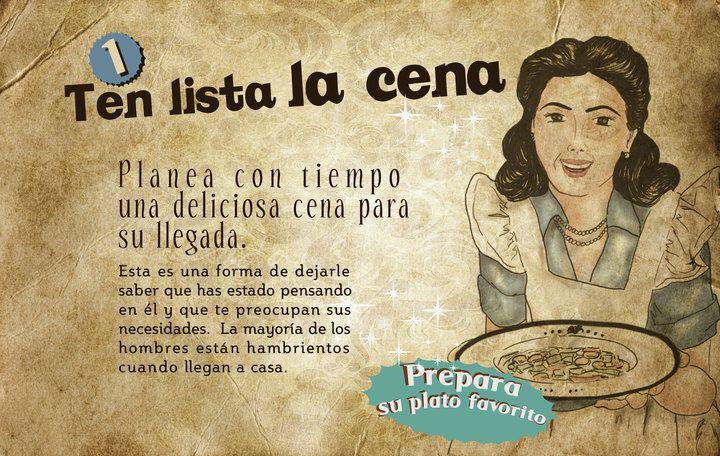 La Guía de la Buena Esposa en 1953 (3/6)
